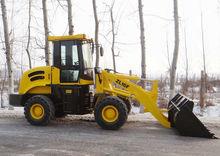 1.6ton 0.8m3 hydraulic transmission ZL16F Wheel loader,wider tire is optional