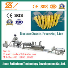 Maize/corn flavor low cost high consumption kurkure/nik naks/cheetos process line