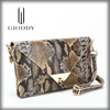 The classical design China supplier leather women clutch bag