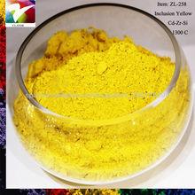 Whole seller ceramic tile Pr yellow ceramic glaze pigment