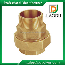 yuhuan manufacturer low price male threaded yellow brass color 1/2-4 inch brass pipe and fitting