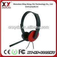 cheap stylish hot sale 3.5mm plug cover computer headphone mic