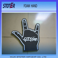Promotion eva giant wave foam finger cheering hands