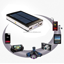 2015 China New Product Solar Automatic Mobile Charger, Rohs Solar Cell Phone Charger, 20000mAh Solar Charger Powerbank