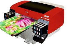 Factory low price A2 size mini flat bed uv printer 420*800 with dx5 printed