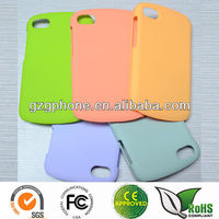 Rubbered PC case for Blackberry q10 hard case