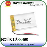 China manufacture 1000mAh 20C RC Mini Toy Helicopter Battery Lipo Battery
