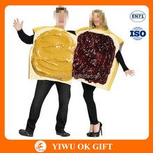 Peanut Butter Jelly Toast Couple Halloween Funny Party Costume