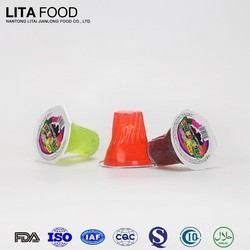 USA hot sale jelly drinking water with FDA certificate