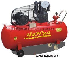 500L 5.5HP 12.5Bar High Pressure Two Stage Portable Air Compressor