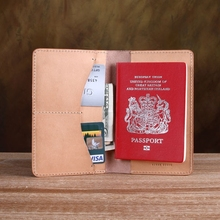 Wholesale gifts travel passport neck wallet rfid organizers