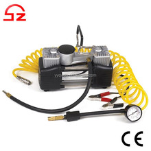 2015 Heavy duty DC 12v portable car tire inflator pump