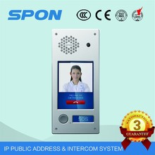 new touch screen factory smart home, home automation tcp ip color tcp ip video door phone