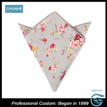Custom Mens follow Pocket Squares Woven Handkerchief For Sale