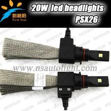 Hot High Brightness Zoom C ree LED Headlight 20w 2500LM PSX26 headlight bulbs