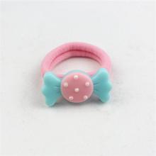 promotional custom elastic hair tie material with glass
