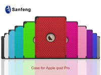 2015 New arrival 3 in 1 Diamond Case for Ipad pro many color for option