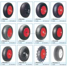 16inch wheelbarrow tyre ,4.80/4.00-8 solid tire for wheelbarrow