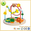 2013 Wooden Manipulative Beads Maze Toy,wooden toy learning cube