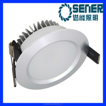 New Designed CE Rohs 265V CRI80 12W Adjustable LED Recessed Downlights White Housing Gimbal LED Downlight for Clothing Store
