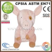 fabricación de cerdo atractivo de los animales de peluche juguetes