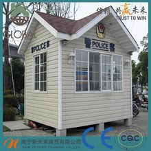 prefabricated sentry box,security house, guard house china manufacture
