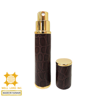 Prestige Seasonal limited Premium leather wrapped 15ml bulk perfume bottles