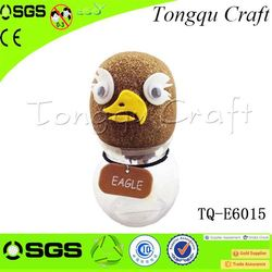 Christmas Ornaments record your own voice toy grass head doll toy microphone , wholesale educational toy