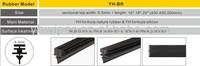 car wiper blade rubber