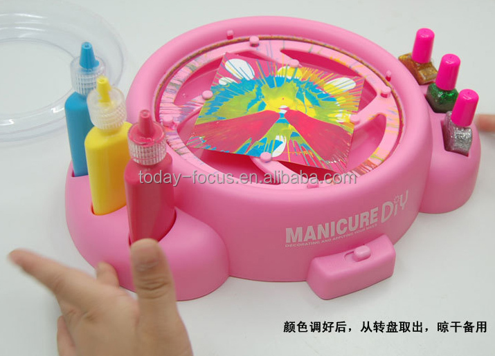 2015 Kid Jewelry Toy For Girl,Spin Art Nail Salon - Buy Kid Jewelry ...
