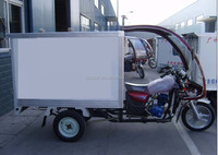 Half closed cabin tricycle cargo for sale Cargo bicycle/traditional heavy duty bicycle/bicycle factory from china