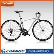 CHANGE F11 quality best deisgn tawian made 700C race flat bar lady bicycle