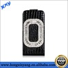 Luxurious diamond leather case for iphone5