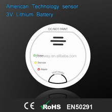 Carbon monoxide alarm or RoHS and CE alarms or detector