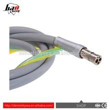 T4 4 agujeros de silicona Dental Handpiece Tubing / manguera / tubo alta velocidad pieza de mano repuestos
