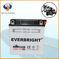 Hot sale 12v 9ah rechargeable battery for motorcycle