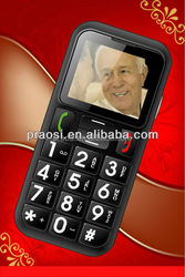 China manufacturer Cheap Quad band GSM Unlocked Old man cellphone W60