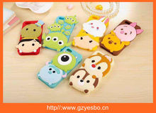 2015 new 3D cartoon silicone case cover , silicon cases for iphone 4 5 6 6plus for samsung