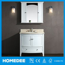 2015 Cheap Modern lowes Bathroom Vanity top with single sink