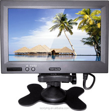 7 inch car monitor with stand alone bracket Model XM720