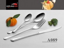A089 Cheap factory 4pcs set cheap flatware stainless steel chinese cutlery