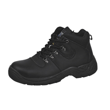 new style popular leather safety shoes buffalo leather engineering working shoes