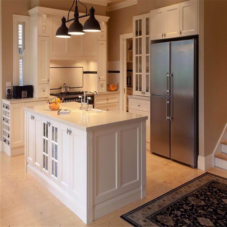 Klassieke Moderne kleine keuken ontwerp ideeën voor uw keukenkast ...