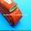 Manga de insolación a prueba de fuego de goma y silicona flexible para tubo de vapor