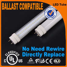 Wholesale price TUV Canada 0.6m 1.2m 1.5M CRI 80 t8 New led tube no rewire
