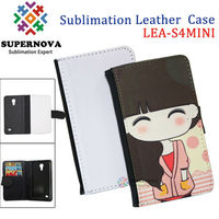 Alibaba China Printable Leather Case for samsung galaxy s4 mini
