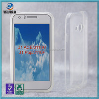 2015 hot selling transparent tpu case for samsung galaxy J1 ACE