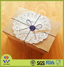 Birthday party decorations Franch lace paper doilies from China supplier