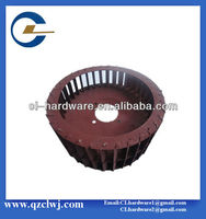 Chinese high precision Metal Stamping Four-hole fan