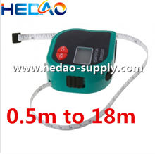 Sale ultrasonic Distance Meter with tapeline laser distance measure device